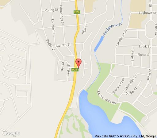 Map Cambridge Guesthouse in Bethlehem  Thabo Mofutsanyana  Free State  Zuid-Afrika