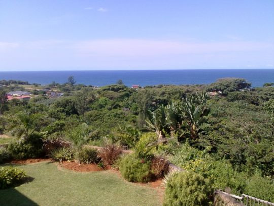 Map Summit Self-Catering Home  in Hibberdene  South Coast (KZN)  KwaZulu Natal  South Africa