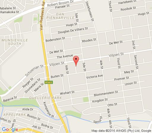 Map No8 Guest House in Krugersdorp Central  Krugersdorp  West Rand  Gauteng  South Africa