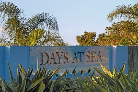 Map Days at Sea Beach Lodge in Trafalgar  South Coast (KZN)  KwaZulu Natal  South Africa