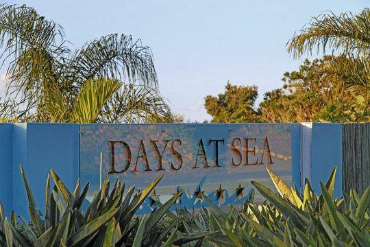 Map Days at Sea Beach Lodge in Trafalgar  South Coast (KZN)  KwaZulu Natal  South Africa