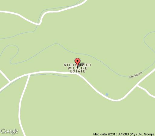 Map Shikwaru Lodge in Mookgopong (Naboomspruit)  Bushveld  Limpopo  South Africa