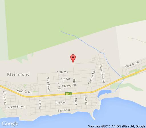 Map The Grail Centre in Kleinmond  Overberg  Western Cape  South Africa