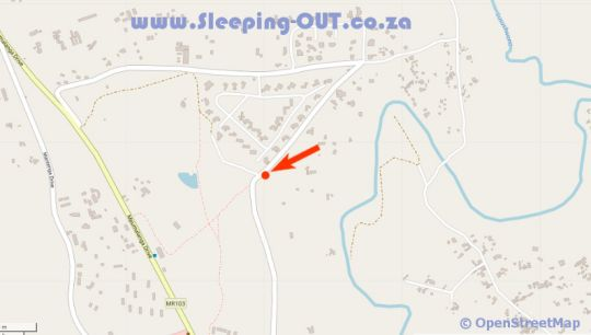 Map Buhleni Farm Chalets in Lobamba  Hhohho  Swaziland