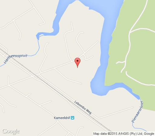 Map Faircity Roodevallei in Kameeldrift East  Pretoria East  Pretoria / Tshwane  Gauteng  South Africa