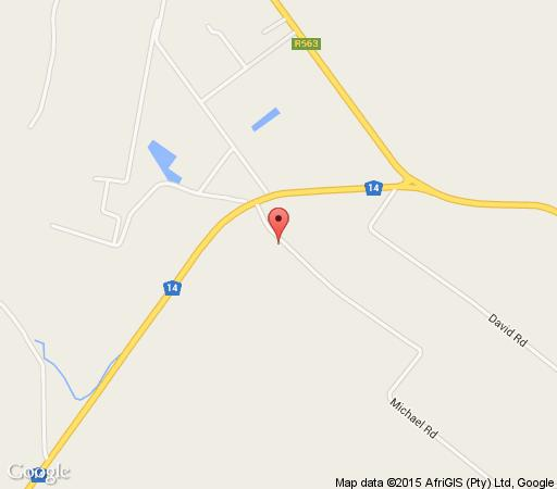 Map The Crystal Rose Lodge in Krugersdorp Central  Krugersdorp  West Rand  Gauteng  South Africa