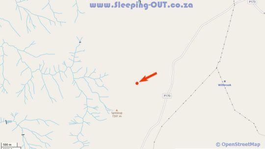 Map Leopard\'s Lair in Estcourt  Midlands  KwaZulu Natal  South Africa