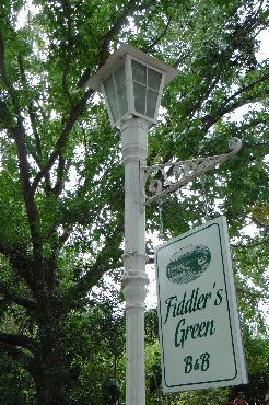 Map Fiddler\'s Green B&B in Knysna  Garden Route  Western Cape  South Africa