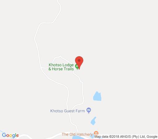 Map Khotso Adventure Farm in Underberg  Southern Drakensberg  Drakensberg (KZN)  KwaZulu Natal  South Africa