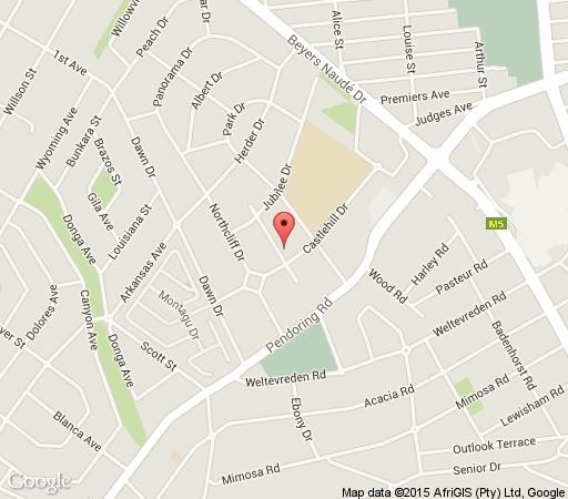 Map Selma\'s Place in Northcliff  Northcliff/Rosebank  Johannesburg  Gauteng  South Africa