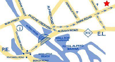 Map Villa Vista in Port Alfred  Cacadu (Sarah Baartman)  Eastern Cape  South Africa