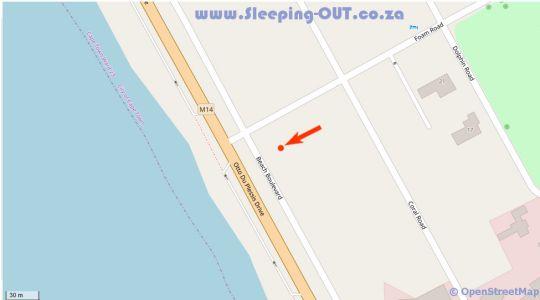 Map Aandvari Zeezicht in Bloubergstrand  Blaauwberg  Cape Town  Western Cape  South Africa
