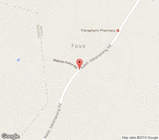 Map Road Stay in Maseru East  Maseru (City)  Maseru (District)  Lesotho