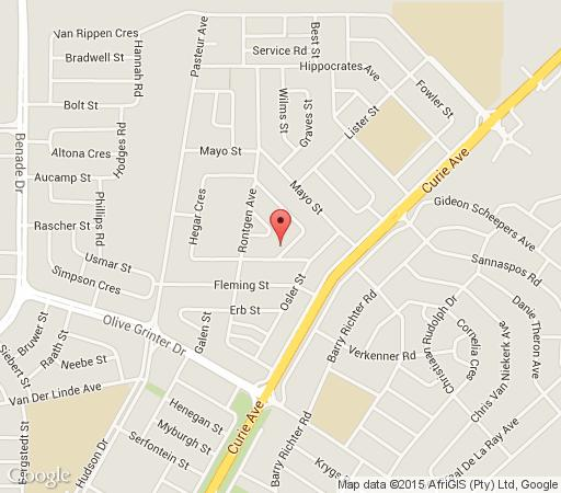 Map BloemRest in Bloemfontein  Mangaung  Free State  South Africa