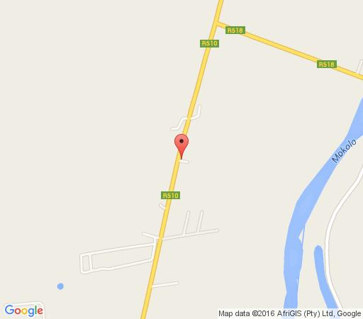 Map Shanyane Guesthouse in Lephalale  Waterberg  Bushveld  Limpopo  South Africa