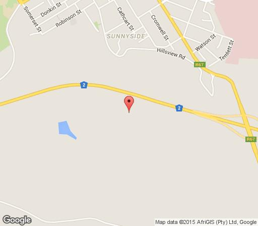 Map Mountain View Manor in Grahamstown  Cacadu (Sarah Baartman)  Eastern Cape  South Africa