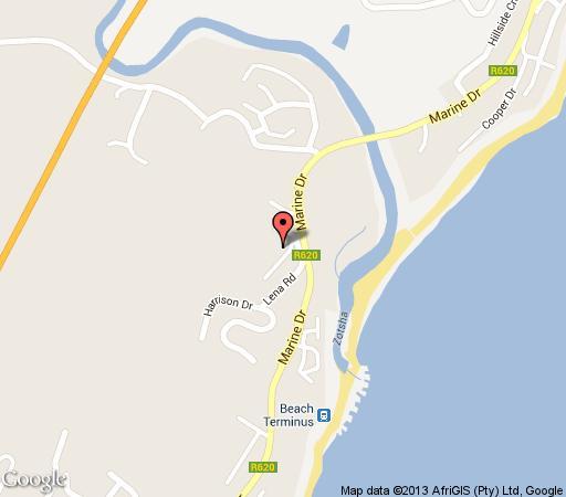 Map 30 Villa Sering in Shelly Beach  South Coast (KZN)  KwaZulu Natal  South Africa