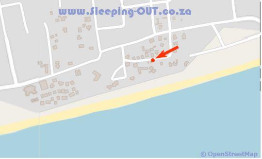 Map Villa Espanhola in Praia do Bilene  Gaza  Mozambique