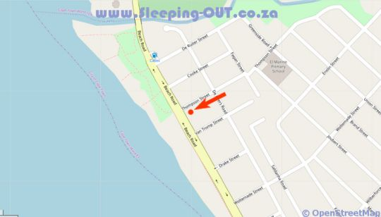 Map 9 Lantra in Strand  Helderberg  Western Cape  South Africa