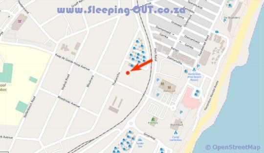 Map B30 Alikreukel in Hartenbos  Garden Route  Western Cape  South Africa