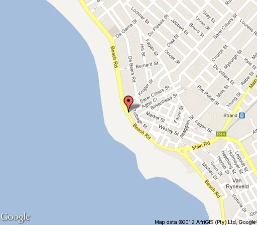 Map Da Gama 202 in Strand  Helderberg  Western Cape  South Africa