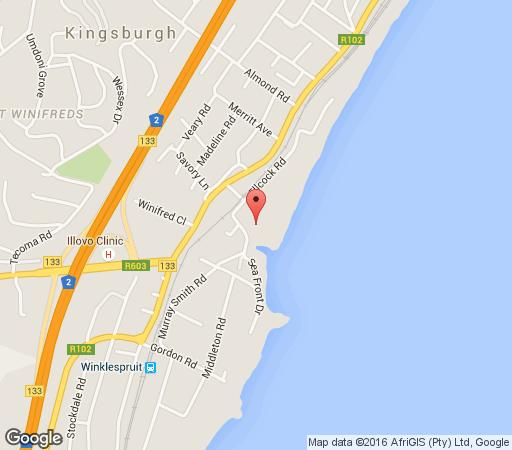 Map 21 Ocean Breeze in Warner Beach  South Coast (KZN)  KwaZulu Natal  South Africa
