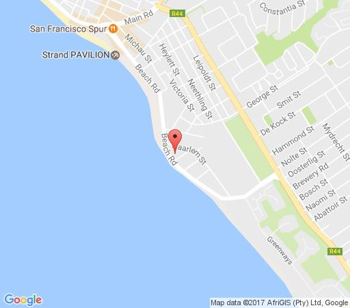 Map 1102 Ocean View in Strand  Helderberg  Western Cape  South Africa