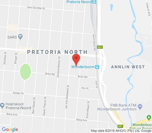 Map Delarey House in Pretoria North Suburb  Pretoria North  Pretoria / Tshwane  Gauteng  South Africa