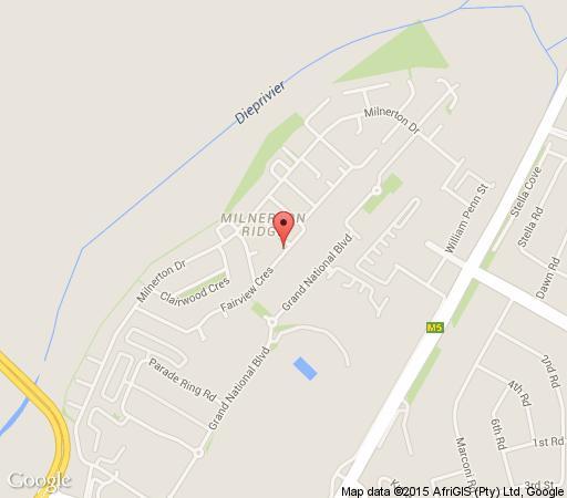 Map Capetown4u in Milnerton  Blaauwberg  Cape Town  Western Cape  South Africa