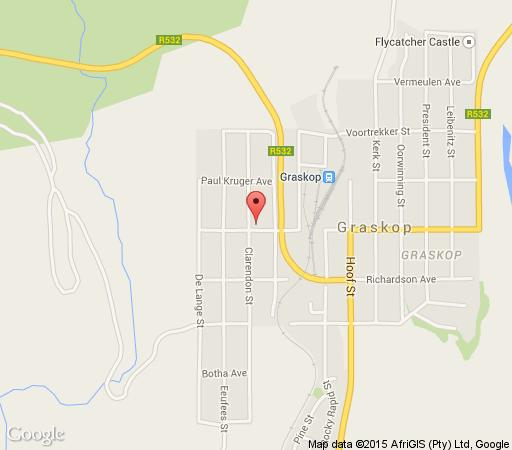 Map Post Office Inn in Graskop  The Panorama  Mpumalanga  South Africa