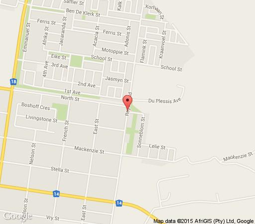 Map Dalavinics  in Vryburg  Bophirima  North West  South Africa
