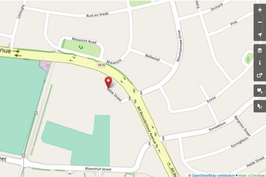 Map  Heide Self-Catering Apartments in Bellville  Northern Suburbs (CPT)  Cape Town  Western Cape  South Africa