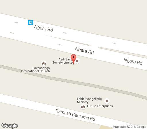 Map Khweza Bed and Breakfast in Nairobi  Kenya