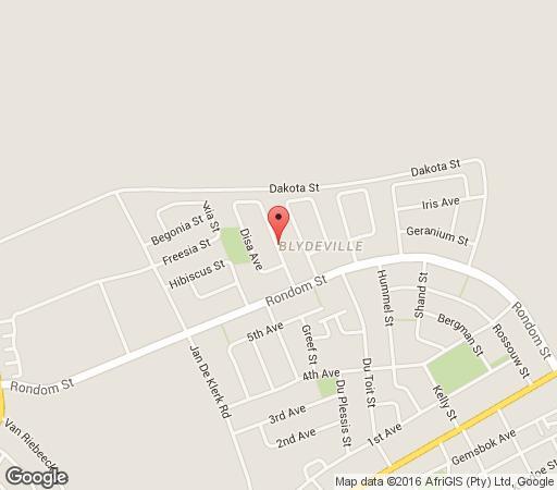 Map Versamelnes Guest Accommodation in Upington  Green Kalahari  Northern Cape  South Africa