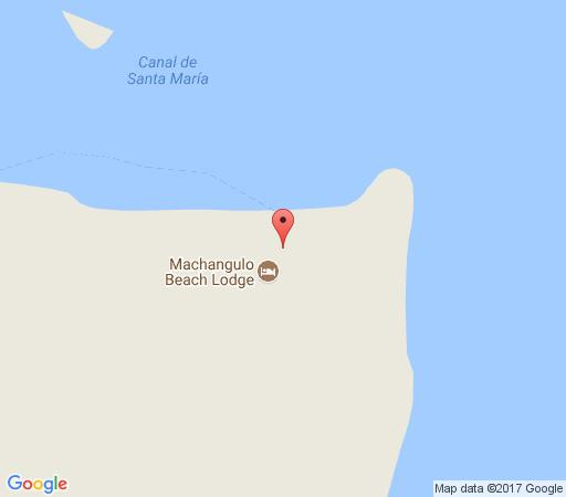 Map Machangulo Beach Lodge in Machangulo Peninsula  Maputo  Mozambique