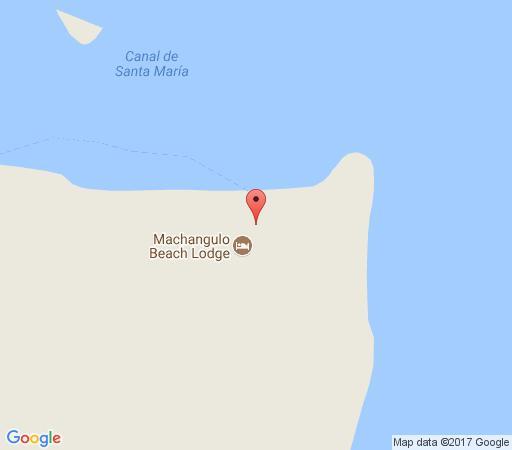 Map Machangulo Beach Lodge in Machangulo Peninsula  Maputo  Mozambique