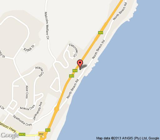 Map 601 Bali Hai in Westbrook  North Coast (KZN)  KwaZulu Natal  South Africa