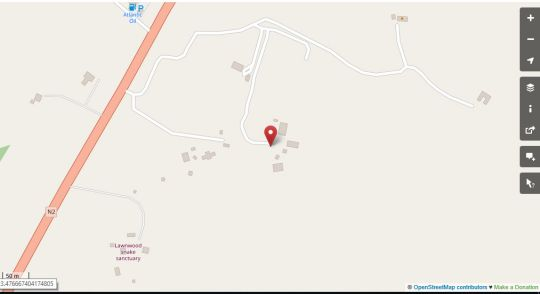 Map That Place in Plettenberg Bay  Garden Route  Western Cape  South Africa