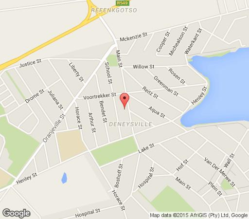 Map Tasha\'s on Main  in Vaal Dam  Sedibeng District  Gauteng  South Africa