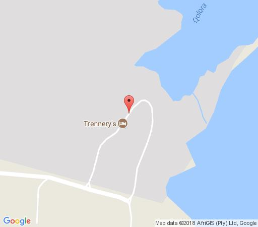 Map Trennerys Hotel in Qora Mouth  Wild Coast  Eastern Cape  South Africa