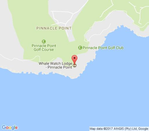 Map Pinnacle Point Golf Lodge  in Mossel Bay  Garden Route  Western Cape  South Africa