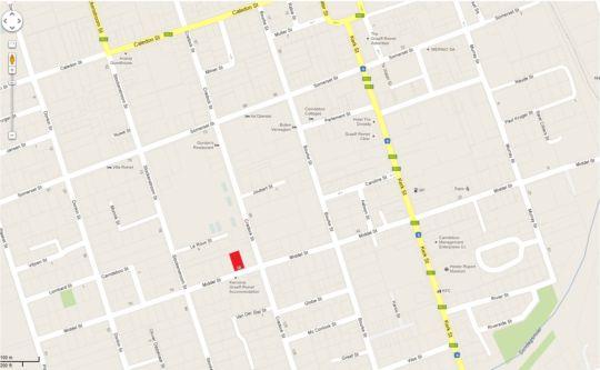 Map Eagle\'s Nest in Graaff-Reinet  Cacadu (Sarah Baartman)  Eastern Cape  South Africa