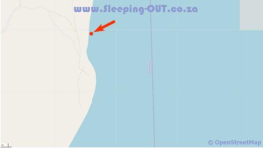 Map Catalina Lodge in Guinjata Bay  Jangamo District  Inhambane  Mozambique