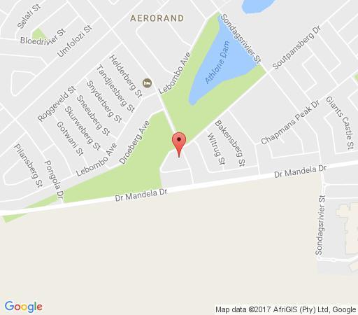 Map Kairos Home in Middelburg (MP)  Heartland  Mpumalanga  South Africa