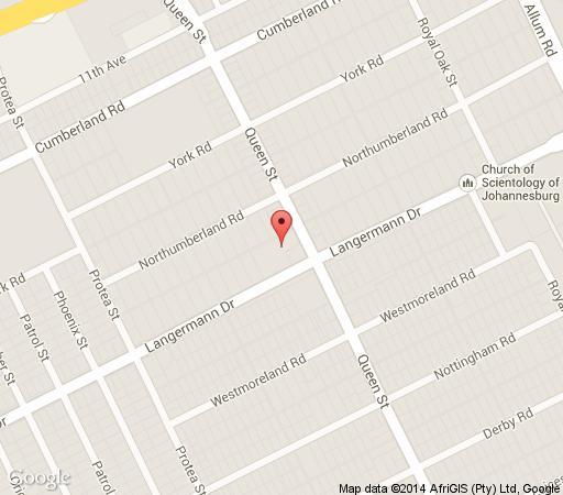 Map Queens Place  in Kensington (JHB)  Johannesburg East  Johannesburg  Gauteng  South Africa