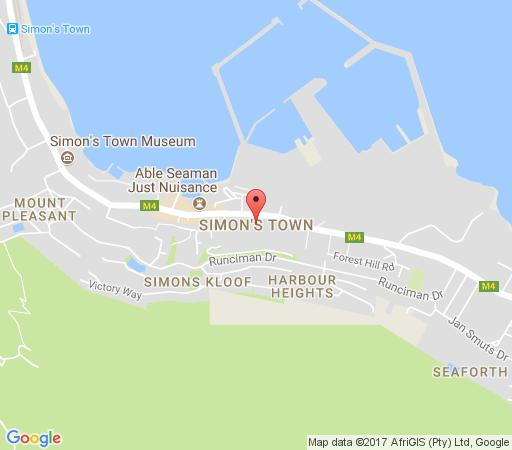 Map On The Square in Simon's Town  False Bay  Cape Town  Western Cape  South Africa
