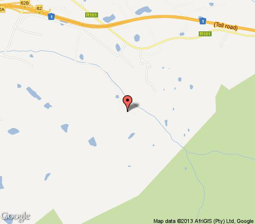 Map Wildepaardejacht in Paarl  Cape Winelands  Western Cape  South Africa