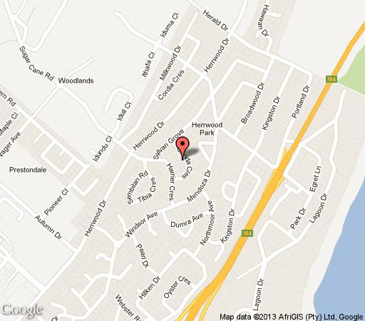 Map Seven Gunda in Umhlanga Rocks  Umhlanga  Northern Suburbs (DBN)  Durban and Surrounds  KwaZulu Natal  South Africa