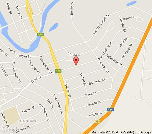 Map Bettie\'s Luxury Lodge in Kroonstad  Fezile Dabi (Northern Free State)  Free State  South Africa