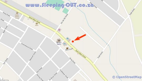 Map Napier All Sorts in Napier  Overberg  Western Cape  South Africa